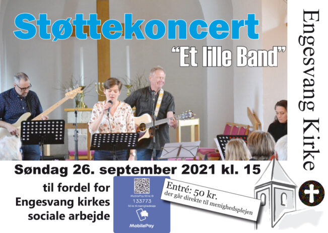 Plakat om koncert med Et Lille Band